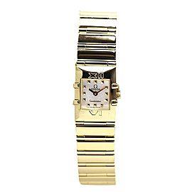 Omega Constellation 1131.71 Calais 18K Yellow Gold Quartz 15mm Womens Watch