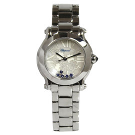 Chopard Happy Sports Mark II Mini Blossom 27/8509-3022 Stainless Steel Quartz 30mm Womens Watch