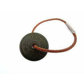 Hermes Sellier Leather Bracelet