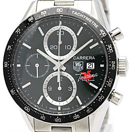 Tag Heuer Carrera CV201Q Stainless Steel Automatic Mens 41mm Watch
