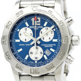 Breitling Colt A73387 Stainless Steel Quartz Mens 44mm Watch
