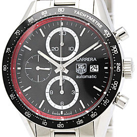 Tag Heuer Carrera CV201Y Stainless Steel Automatic 41mm Mens Watch