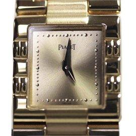 Piaget Dancer 18K Yellow Gold Quartz 17mm Womens Watch