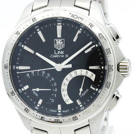 Tag Heuer Link CAT7010 Stainless Steel 45mm Mens Watch