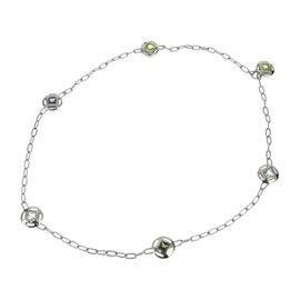 Cartier Pasha De 18K White Gold with Multi Stone Necklace