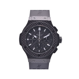 Hublot Geneve 301.qx.1724.rx Bikuban Carbon Rubber 44mm Mens Watch