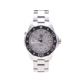 Tag Heuer Aquaracer WAJ2111 Stainless Steel Silver Dial Automatic 43mm Mens Watch