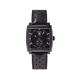 Tag Heuer Monaco WW 2119 Stainless Steel Mens 36mm Watch