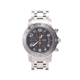 Hermes Clipper Chrono CP 2.941 Titanium 44mm Mens Watch