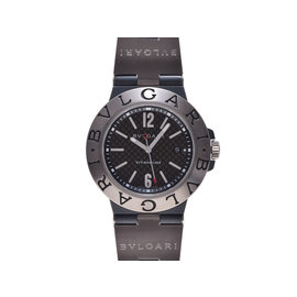 Bulgari Diagono Titanium & Rubber 44mm Mens Watch