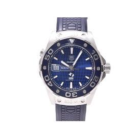 Tag Heuer Aquaracer Waj 2116 Stainless Steel 43mm Mens Watch