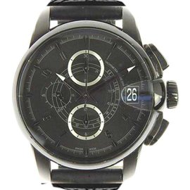 Hamilton H406860 Stainless Steel & Leather Automatic 45mm Mens Watch
