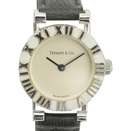 Tiffany & Co. Atlas 51.298 Stainless Steel Quartz 19mm Womens Watch