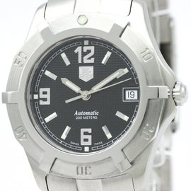 Tag Heuer Exclusive WN2111 Stainless Steel Automatic 37mm Womens Watch