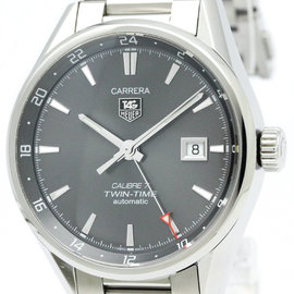 Tag Heuer Carrera WAR2012 Stainless Steel Automatic 41mm Mens Watch