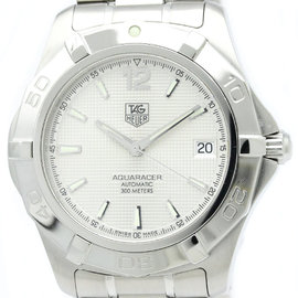 Tag Heuer Aquaracer WAF2111 Stainless Steel Automatic 38mm Mens Watch