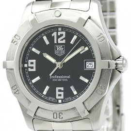 Tag Heuer 2000 Series WN1110 Stainless Steel Quartz 37mm Mens Watch