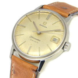 Omega Seamaster 136.011 Stainless Steel Manual Vintage 34mm Mens Watch