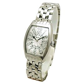 Franck Muller Cintree Curvex 1752QZ Stainless Steel Quartz 24mm Womens Watch