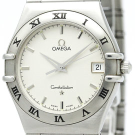Omega Constellation 1512.30 Stainless Steel Silver Dial Quartz 33mm Mens Watch