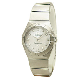Omega Constellation 123.10.24.60.55.001 Stainless Steel Quartz 24mm Womens Watch