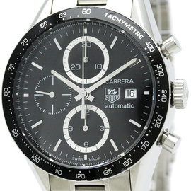 Tag Heuer Carrera CV2010 Stainless Steel Automatic 41mm Womens Watch