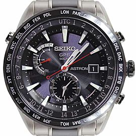 Seiko Astron 7X52-0AF0/SBXA015 Ceramic & Titanium 47mm Mens Watch