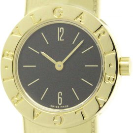 Bulgari Tubogas B232T 18K Yellow and White Gold 23mm Womens Watch