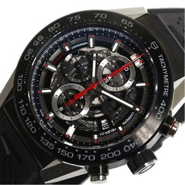 Tag Heuer Carrera CAR2A1Z.FT6044 Ceramic & Stainless Steel Automatic 45cm Mens Watch