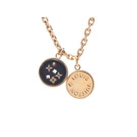 Louis Vuitton Gold Tone Hardware Necklace