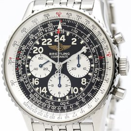 Breitling Navitimer A12022 Stainless Steel Manual 41mm Mens Watch