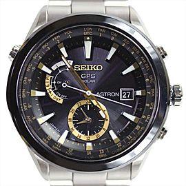 Seiko Astron SBXA005 / 7X52-0AA0 Titanium Quartz 50mm Mens Watch