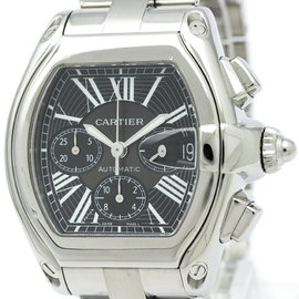 Cartier Roadster W62020X6 Stainless Steel Automatic 42mm Mens Watch