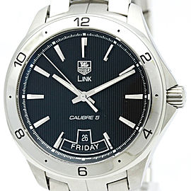 Tag Heuer Link WAT2010 Stainless Steel Automatic 42mm Mens Watch