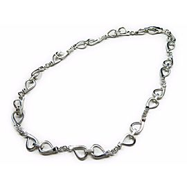 Gucci 925 Sterling Silver Choker Chain Necklace