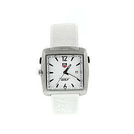 Tag Heuer Tiger Woods Golf White Men's Watch