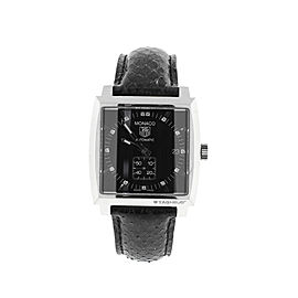 Tag Heuer Monaco Midsize Model #WAA2117 Mens Watch