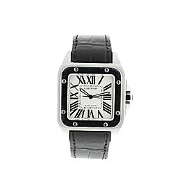 Cartier Santos 100 XL Stainless Steel Mens Watch