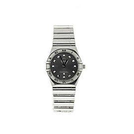 Omega Constellation My Choice Quartz Steel Ladies Watch 1566.56.00