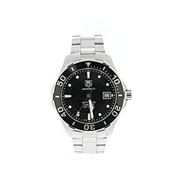 Tag Heuer WAN2110 Aquaracer Black Dial Mens Watch