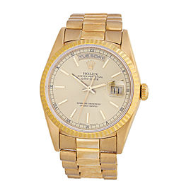 Rolex Day Date Yellow Gold 36mm Watch