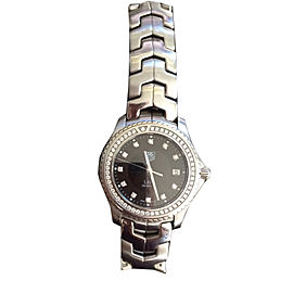 Tag Heuer Link Diamond Bezel 40mm Watch