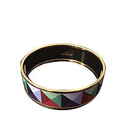 Hermes Printed Enamel Bracelet