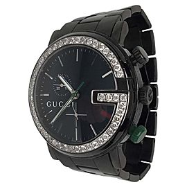 Gucci 101M Black PVD & Stainless Steel Mens Watch