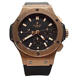 Hublot Big Bang Dial Black 18K Rose Gold Casual Mens Watch