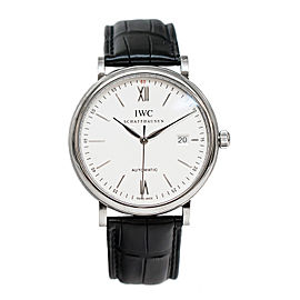 IWC Portofino IW356501 Automatic Silver Dial Men's Watch