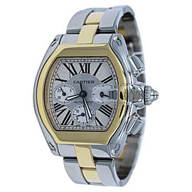 Cartier Roadster W62027Z1 18K Yellow Gold & Stainless Steel 48mm x 43mm Watch