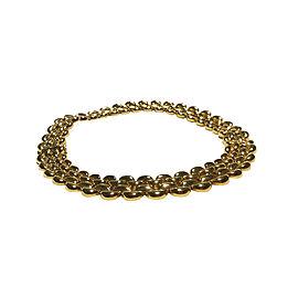Cartier 18K Yellow Gold Half Moon Necklace