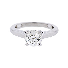 Cartier Platinum 1.13 ct. Round Brilliant Solitaire Engagement Ring