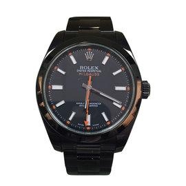 Rolex Milgauss Orange PVD Watch